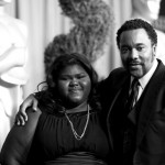Director Lee Daniels with actress Gabourey Sidibe pose for the Oscar luncheon for the 82nd annual Oscars. MCT