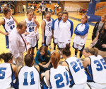 Under the direction of head coach Kate Pearson, the women's basketball team is prepared to improve upon last year's 10-15 record. The team begins their season on Friday, Nov. 18. -- Cabrini College Athletics Department