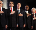 Republican presidential candidates attend CNN Debate - DC