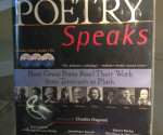 The Holy Spirit Library displays diverse poetry books to celebrate poetry month.