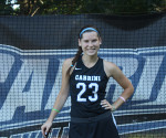 Senior Forward Lindsey Atzert has 21 goals and 15 assists in 65 career games with the Lady Cavs. (Staff Writer / Rachel Antuzzi)