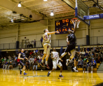 Men's Basketball defends Battle of Eagle Road title