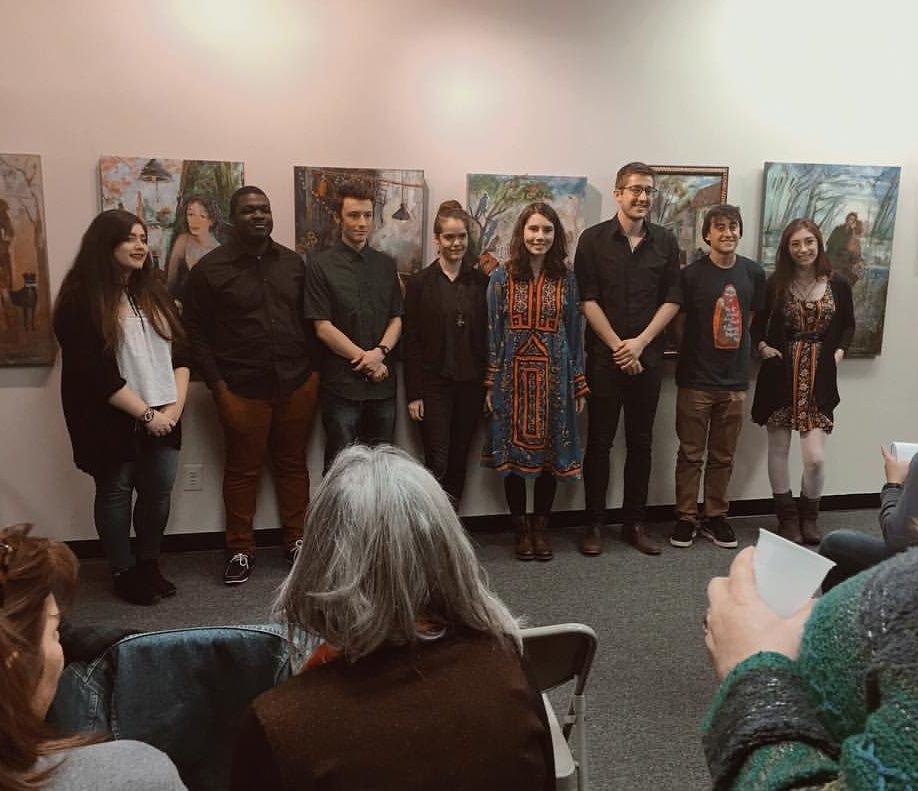 Cabrini writers express themselves at the State Street Reading Series