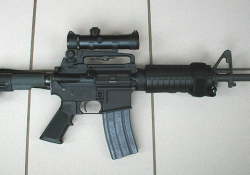 AR-15. Photo from Wikimedia Commons.