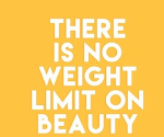 Photo credits: Body image collision. Learn to love yourself no matter what shape or size.