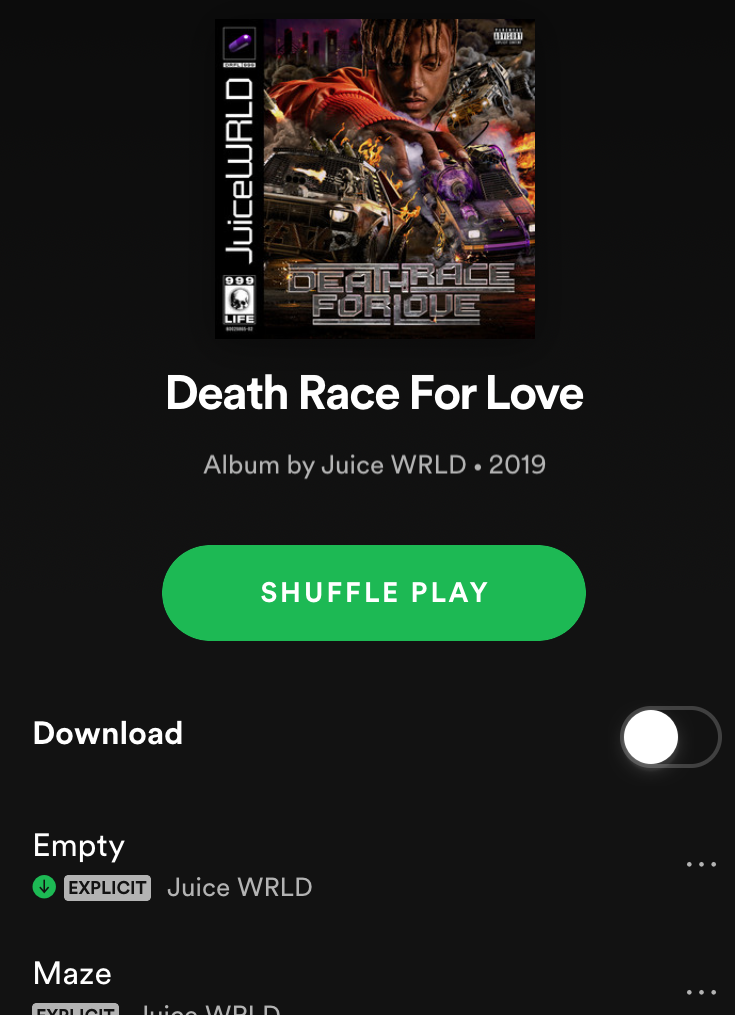 Must listen: Juice WRLD drops new album 'Death Race for Love'