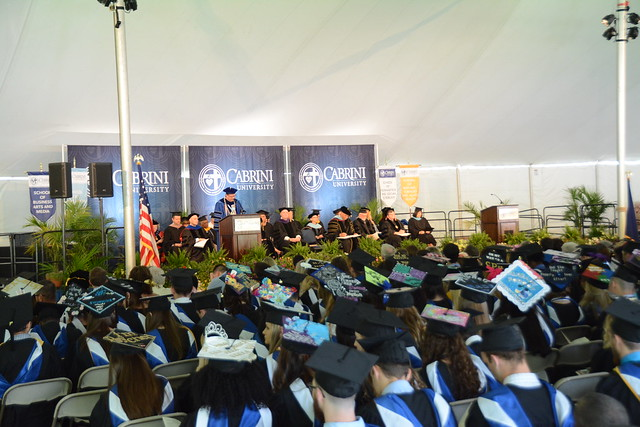 Commencement ceremony permanently moved indoors due to accessibility, weather and cost