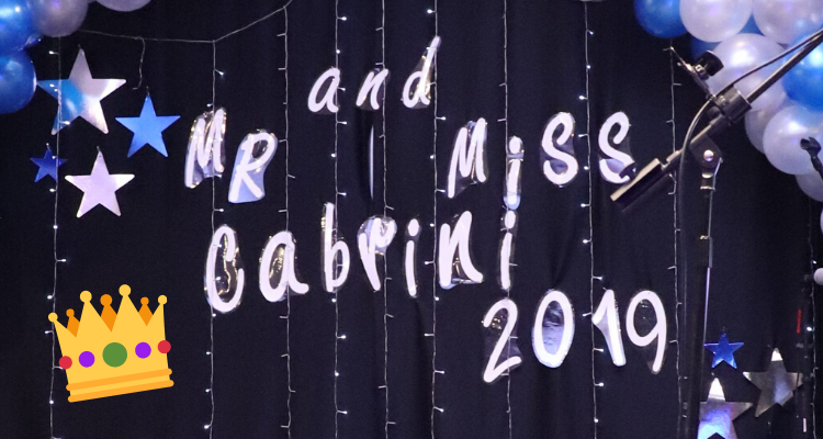 The winners are in for this year's Mr. and Miss Cabrini pageant