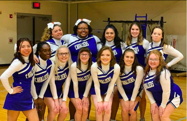 Cabrini cheerleaders are thankful they finished their season before school closure
